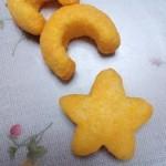 レアお菓子・カールの星形と雪だるまが出た^^