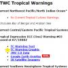 台風情報の進路予想 米軍とヨーロッパがよく当たる♪世界の気象情報サイトも^^