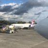 ハワイアン航空の機内食と時間  コナ空港入国審査やホノルル空港の様子♪